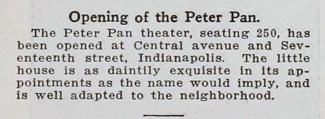 Peter Pan Theater