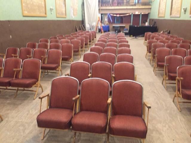 Seating in Buffalo Theatre