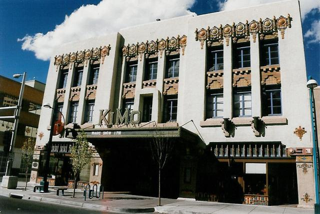 Kimo Theater, Albuquerque NM 1995