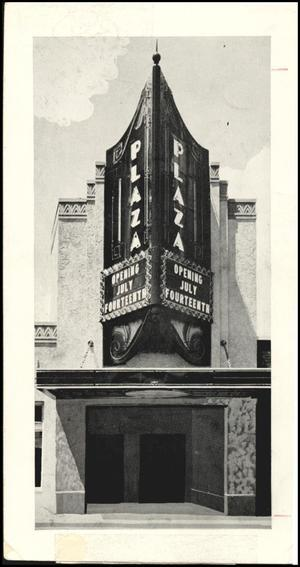 Plaza Theater, Oklahoma City, 1935