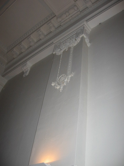 2011 plasterwork Perfectly preserved pilaster plaster.  Say that six times in a row.