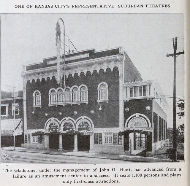 gladstone theatre in kansas city mo cinema treasures