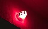 Original exit sign