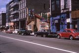 Mid `60's photo of the Bijou building as The Purple Cow. Photographer unknown.