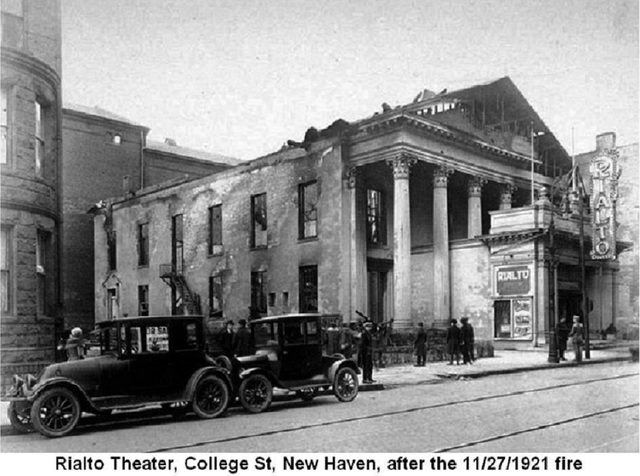 Rialto Theater (after fire)
