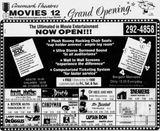 November 20th, 1992 grand opening ad