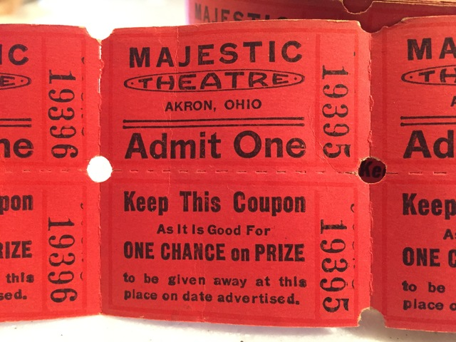 Another pic of a ticket stub