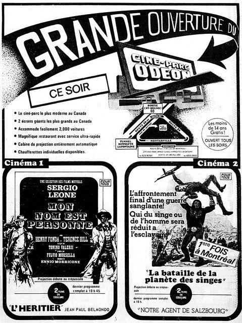 3 mai 1974 annonce d'ouverture
