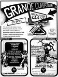 <p>3 mai 1974 annonce d'ouverture</p>