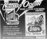 10 octobre 1969 annonce d'ouverture