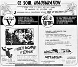 6 septembre 1968 annonce d'ouverture