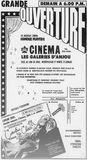 7 août 1968 Grand annonce d'ouverture dans la section photo.
