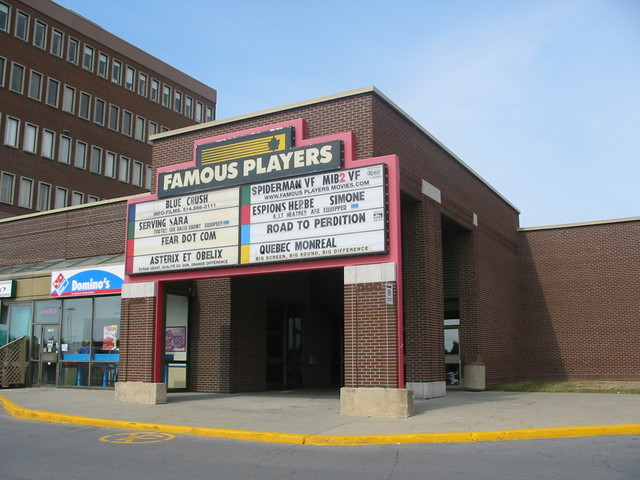 Famous players movie theather in ottawa