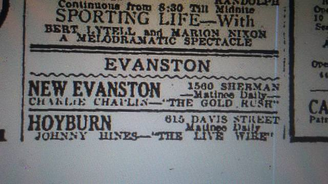 December 5th, 1925 print ad via David Floodstrand.