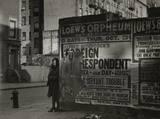 Poster from 1944, photo credit Helen Levitt.