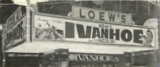 <p>1952 look at the Loew's signage</p>