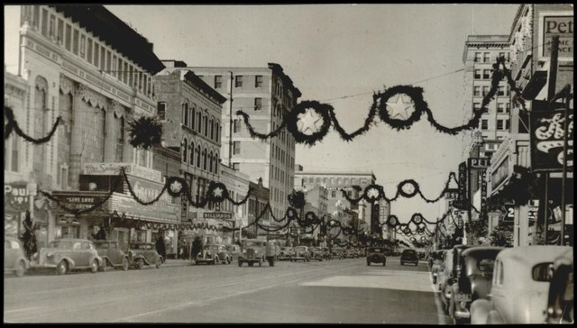 Criterion Theater, Christmas, 1937, Oklahoma City