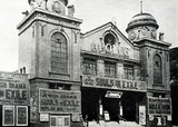 Apollo Picture House Stoke Newington 1926 showing Souls In Exile
