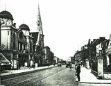 Stoke Newington Road with the Apollo/Astra in the distance