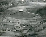 Aerial photo of The Tower Drive-In: Union Gap, WA, 1961