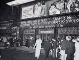 "<p>Opening night of ""The Chase"" at the Odeon Leicester Square on 8th September 1966.  Attended by Sam Speigel, John Barry, Hugh Griffiths and the Duke & Duchess of Bedford.</p>"