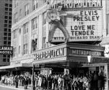 """Thanksgiving Day Nov. 29, 1956 Houston premiere of """"Love Me Tender""""."""