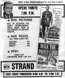 December 6th, 1957 grand opening as Strand
