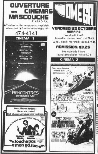 18 octobre 1978 annonce d'ouverture