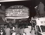 "NYC ROXY Theatre 1952, ""Stars & Stripes Forever"" premiere"