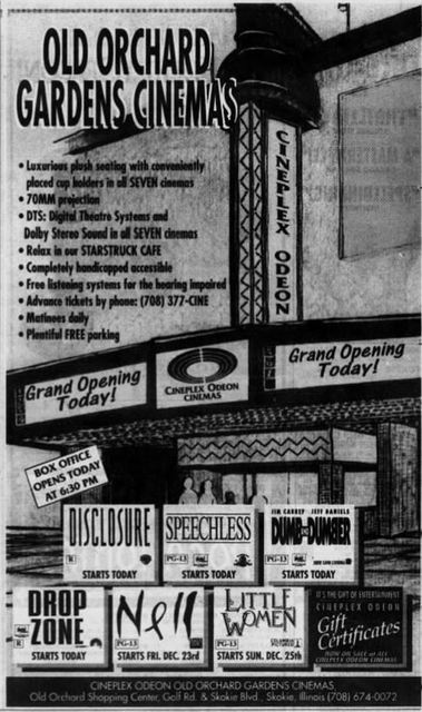 December 16th, 1994 grand opening ad