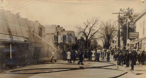 1946 Fire at Theatre