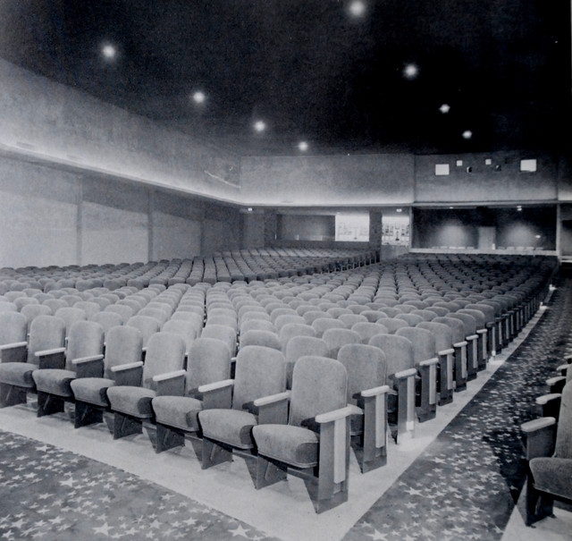 Paradise Theatre auditorium