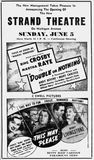 June 4th, 1938 grand opening ad