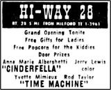 Hi-Way 28 Drive-In
