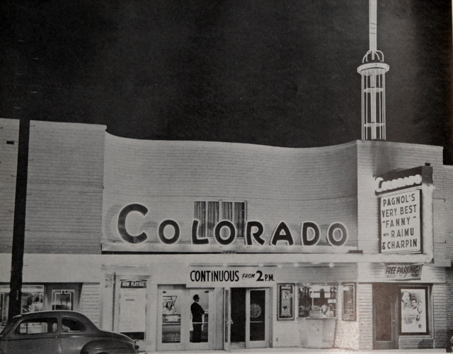 Colorado Theatre exterior