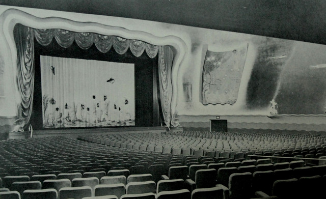 Carib Theatre auditorium