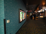 12-25-16 foyer to auditoriums, Cinemark blue remodel