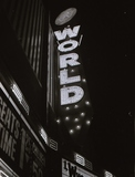 World Theater sign 1978