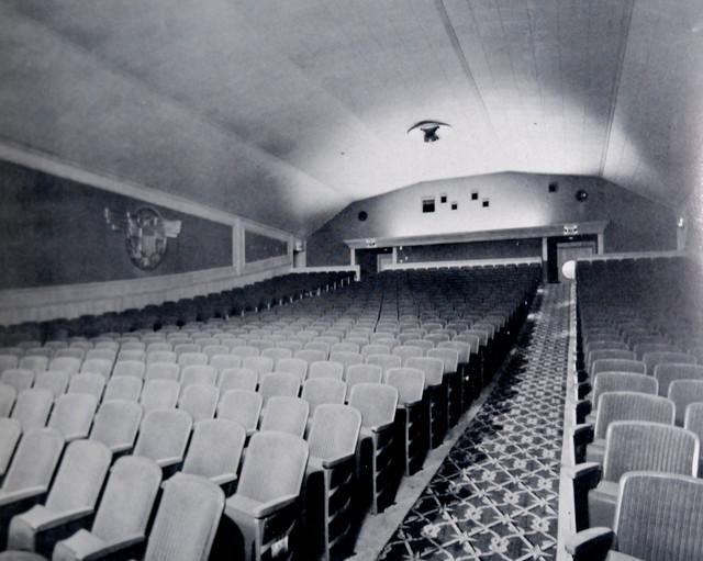 Beach Theatre auditorium