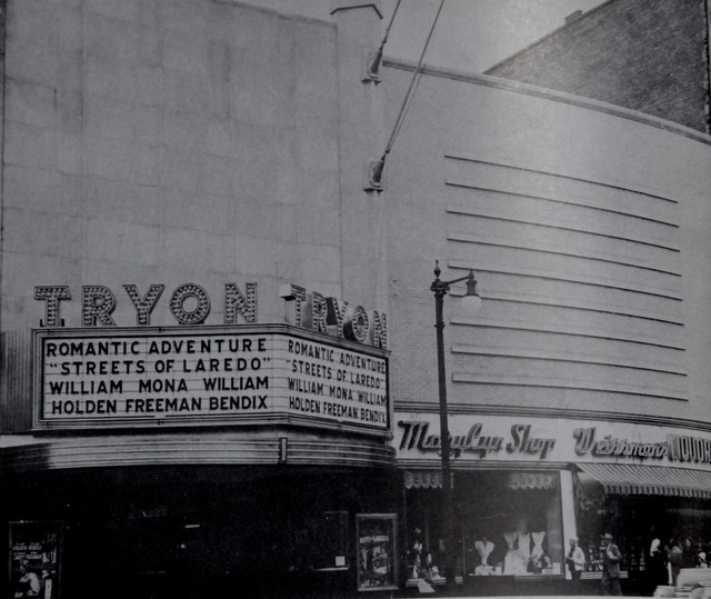 Tryon Theatre exterior