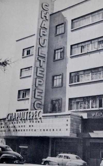 Teatro Chapultepec exterior
