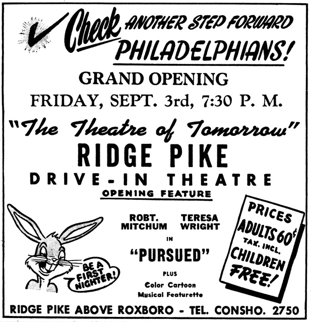 Ridge Pike Drive-In