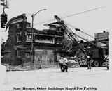 State Theatre - West State Street, Olean NY  - Demolition 1960's