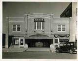 Original front of the Ellis Theater