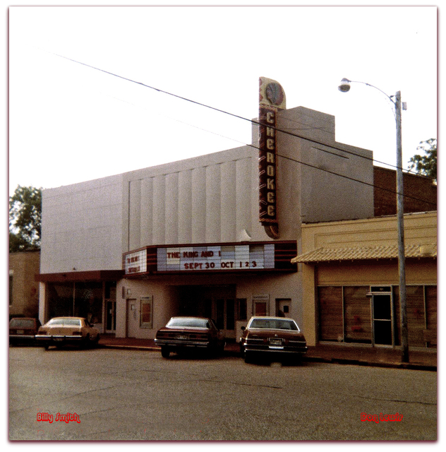 Cherokee Theater©...Rusk Texas 1982