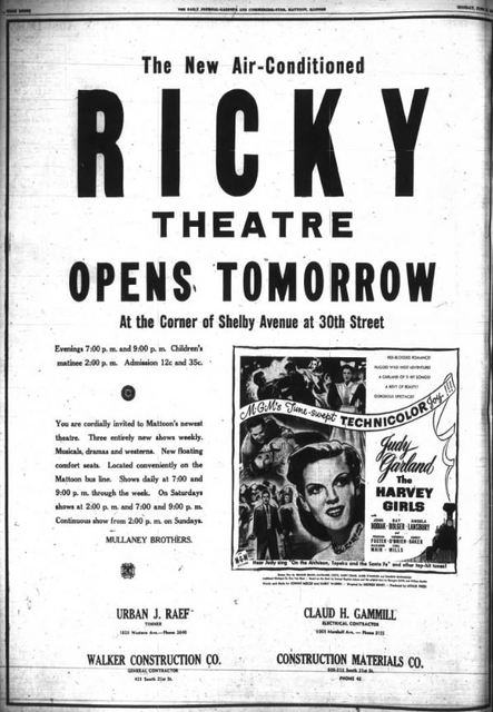 June 11th, 1946 grand opening ad