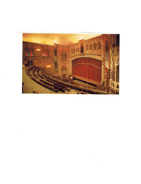 Hershey Theatre - Proscenium