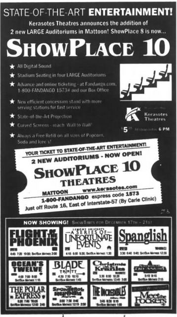 December 17th, 2004 grand opening ad