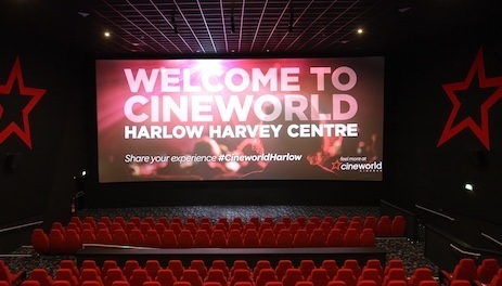Cineworld Cinema - Harlow Harvey Centre