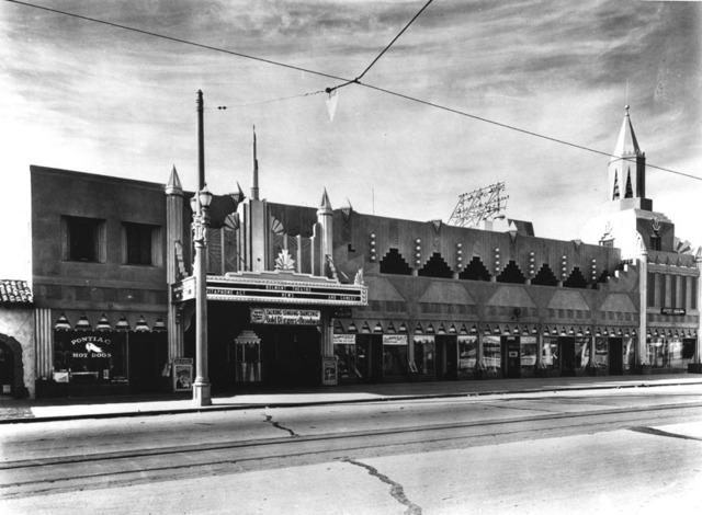 Fox Belmont Theatre exterior